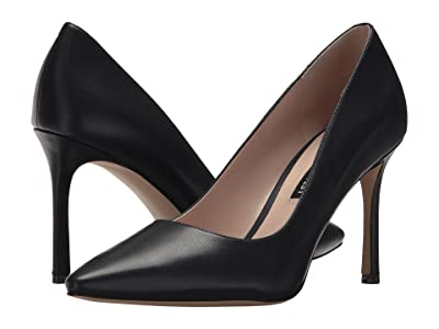 Nine West Emmala Pump (Navy Leather) Women
