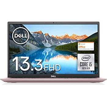 【MS Office Home&Business付き】Dell モバイルノートパソコン Inspiron 13 5300 ピンク Win10/13.3FHD/Core i5-10210U/8GB/512GB SSD MI553A-ANHBP