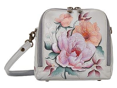 Anuschka Handbags Zip Around Travel Organizer 668 (Bel Fiori) Handbags