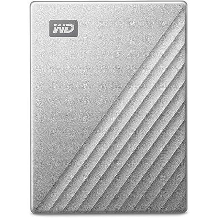 WD HDD Mac用ポータブル ハードディスク My Passport Ultra for Mac 2TB USB TYPE-C タイムマシン対応 3年保証 WDBKYJ0020BSL-WESN