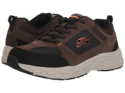 SKECHERS Oak Canyon (Chocolate/Black) Men