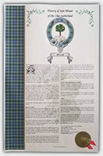 Mr Sweets Ayshone Scottish Clan & Sept 11x17 History Print - Tartan, Buckle, Crest, Last Name Surname Meaning, Genealogy, Family Tree Research Aid, Roots, Ancestry, Ancestors and Namesakes