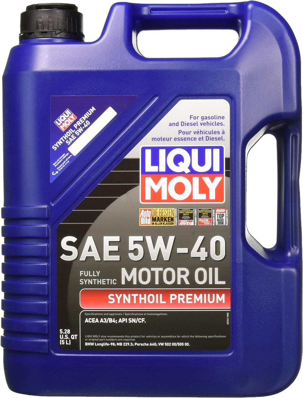 Liqui Moly Premium 5W-40 Synthetic Motor Oil