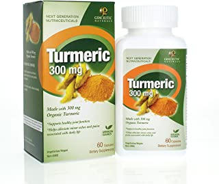 Genceutic Natural's Turmeric Organic Raw Dietary Supplement | Supports a Healthy Immune System, Liver & Cardiovascular Fun...
