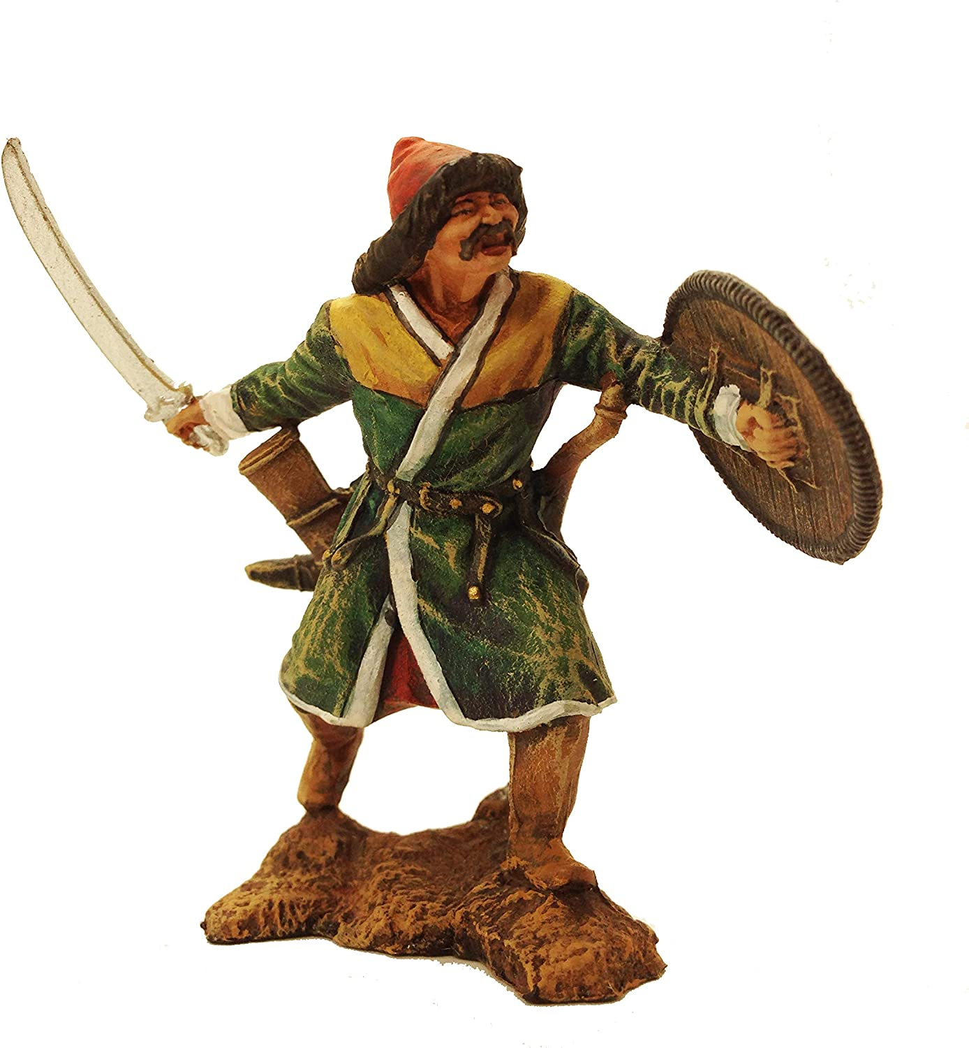 Muslim warrior Golden Horde 14th century Hand Painted Denver Mall Cash special price Ti