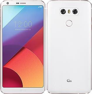 LG G6 H870 Single Sim 32Gb 5.7 Inch Factory Unlocked 4G Lte Smartphone International Version With No Warranty Mystic White