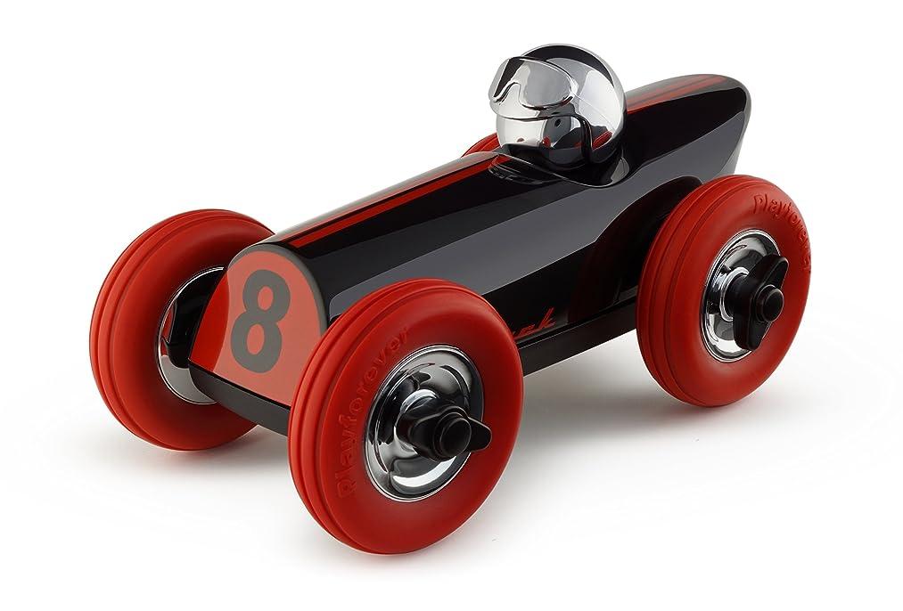 Buck Midi Black/Red with Chrome Helmet