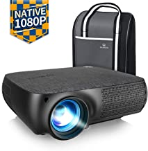 $237 » VANKYO Performance V610 Native 1080P LED Projector, Full HD Video Projector with 6000 Lux, ±40° Digital Keystone Correction, Compatible with Smartphone, TV Stick, HDMI, SD, AV, VGA, USB for PowerPoint