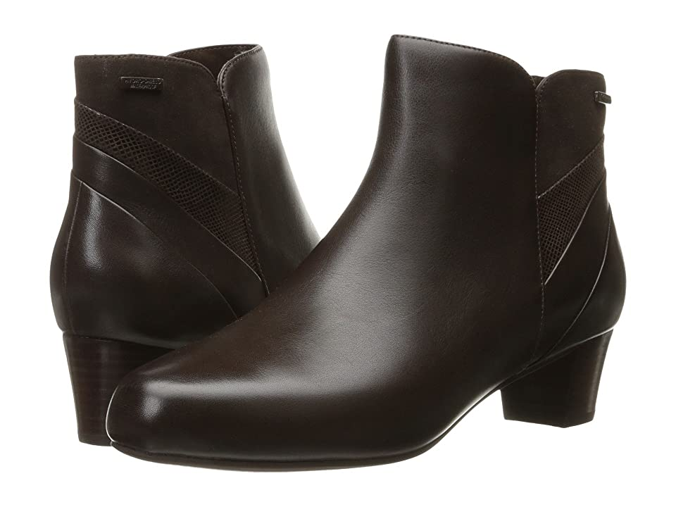 Rockport Total Motion Cherith Waterproof (Ebano Leather Waterproof) Women