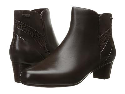 Rockport Total Motion Cherith Waterproof (Ebano Leather Waterproof) Women