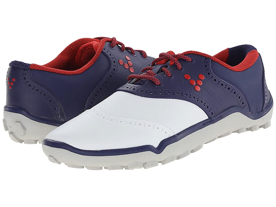 Vivobarefoot Linx (Navy/White) Women's Golf Shoes, Blue