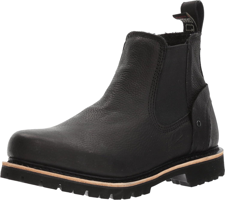 Woolrich herrar Skookum Chelsea Boot, Boot, Boot, svart, 10 M USA  detaljhandel