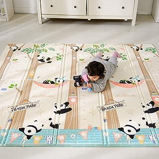 Bammax Tapis de Jeu pour Bébé,Tapis d'éveil Enfant,tapis bébé pliable matériau XPE Non Toxique Tapis enfant avec Motif de ...