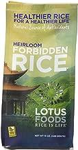 Lotus Foods Gourmet Heirloom Forbidden Rice, 0.94 Pound (Pack of 6)