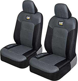 Caterpillar MeshFlex Automotive Seat Covers for Cars Trucks and SUVs (Set of 2) – Car Seat Covers for Front Seats, Univers...