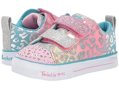 SKECHERS KIDS Twinkle Toes Shuffle Lite 20252N (Toddler/Little Kid) (Pink/Multi) Girl