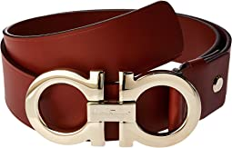 Salvatore Ferragamo Double Gancini Adjustable Belt 679068