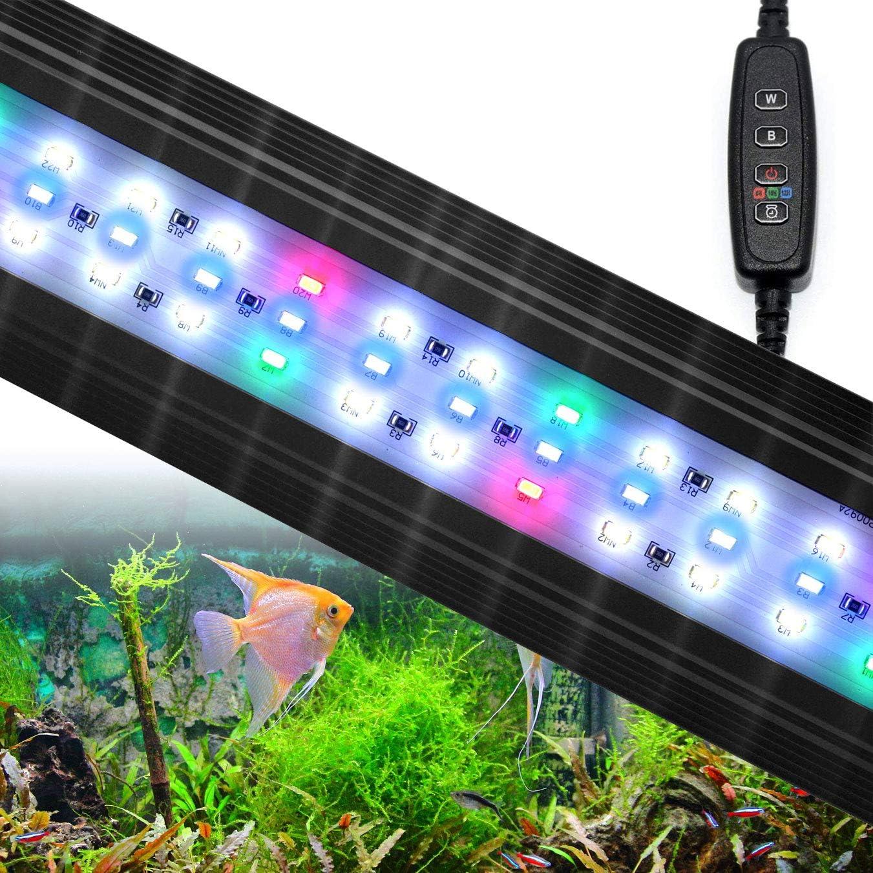 Aquarium 5 ☆ popular Minneapolis Mall Lights Fish Tank LED with RGB Brackets Extendable Light
