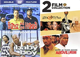 Hood Rat Cinema: Boyz N the Hood/ Baby Boy & Above The Rim/ Love And Basketball DVD Collection 4 Feature Films