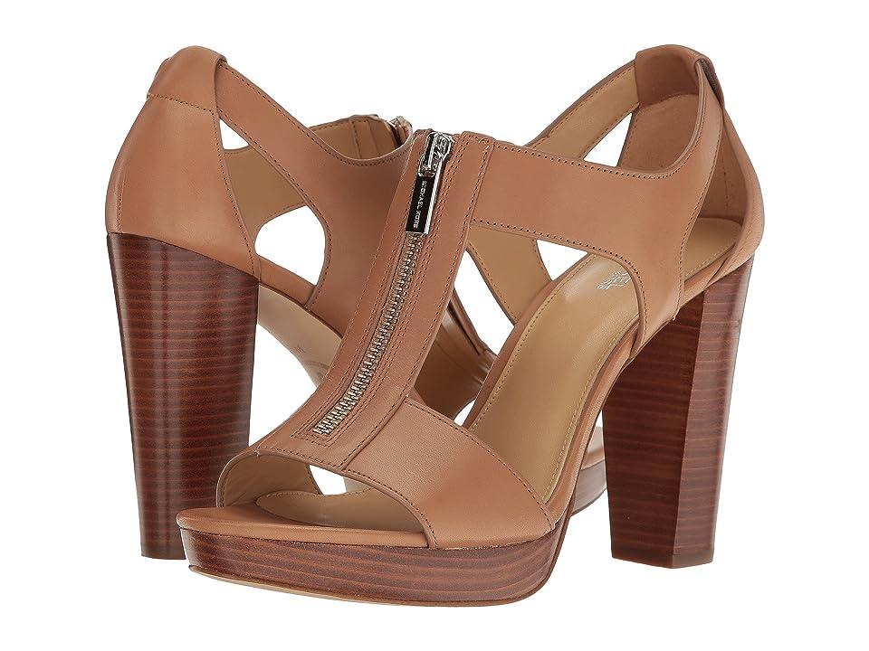 MICHAEL Michael Kors Berkley Sandal (Cashew Vachetta) Women