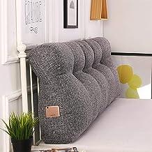 Bed Long Pillow Headboard Soft Bag Triangle Double Bedroom Sofa Tatami Net Red Cushion Pillow Big Back yangain (Color : B,...