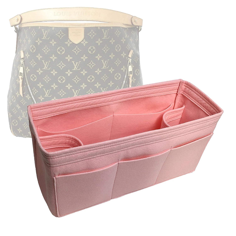 Bag Organizer for Super sale period limited LV Delightful GM 20 Long Beach Mall - Premium Felt C Handmade