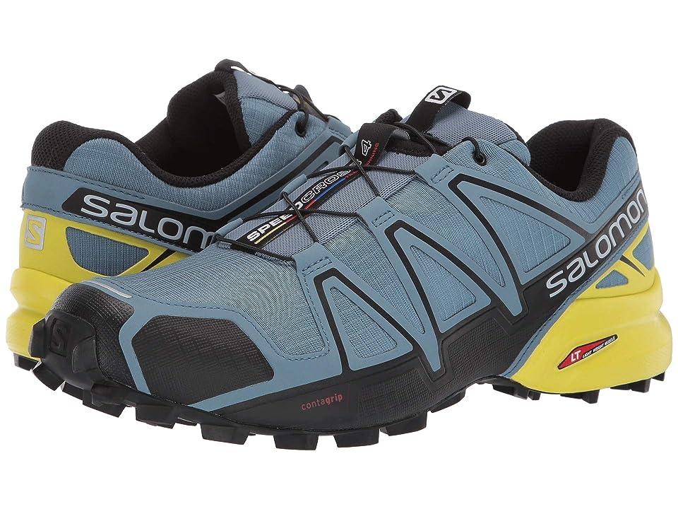 Salomon Speedcross 4 (Bluestone/Black/Sulphur Spring) Men