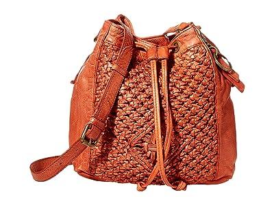 FRYE AND CO. Esme Bucket Bag (Paprika) Handbags