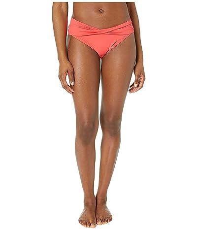 MICHAEL Michael Kors Twist Bikini Bottoms (Sea Coral) Women
