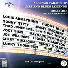 All Star Parade of Jazz and Blues Legends, Vol. 2