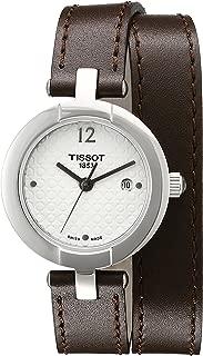 Tissot Women's T0842101601703 Pinky Analog Display Swiss Quartz Brown Watch