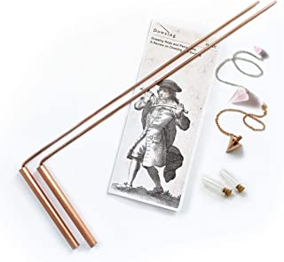 Dowsing Rod Copper -Solid Material 99% - Ghost Hunting, Divining Water, Gold, Buried Items, etc. Instructions and Bonus Pe...