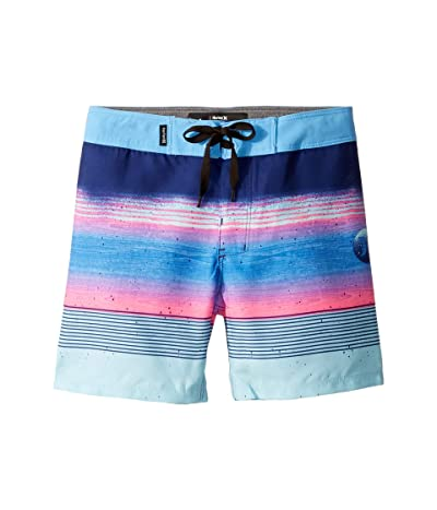 Hurley Kids Overspray Boardshorts (Toddler/Little Kids) (Deep Royal Blue) Boy