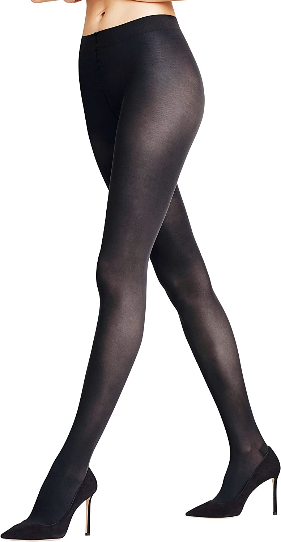 FALKE Women's Leg Vitalizer 40 DEN Tights-Semi-Opaque, Matt, in Black or Tan/Nude, S to XL, 1 Pair