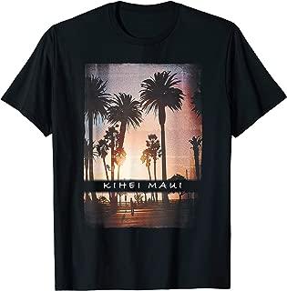Kihei T Shirt Maui Hawaii Sunset Adult Kids Clothes Apparel