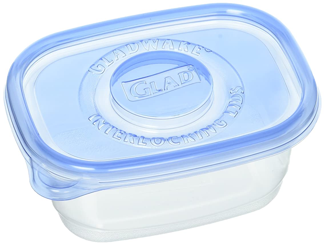 Glad COX60796 GladWare Soup and Salad Food Container w/Lid