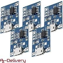 Micro USB TP4056 Batteria Al Litio Di ricarica Board Power Caricabatterie Modulo TE585