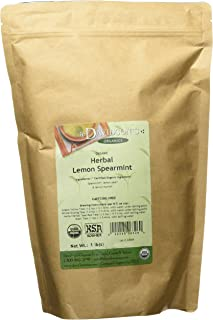 Davidson's Tea Bulk, Organic Herbal Lemon Spearmint, 16-Ounce Bag