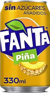 Fanta Piña Sin Azucar, Met ananassmaak, Zonder suiker, 330 ml
