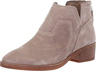 Dolce Vita Women's Titus Ankle Boot, Taupe Suede, 6 M US