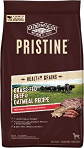 Castor & Pollux Pristine Grain Free and Grass-Fed Dry Dog Food