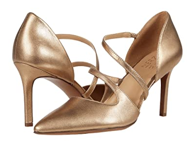 Naturalizer Arielle (Light Gold Metallic Leather) Women