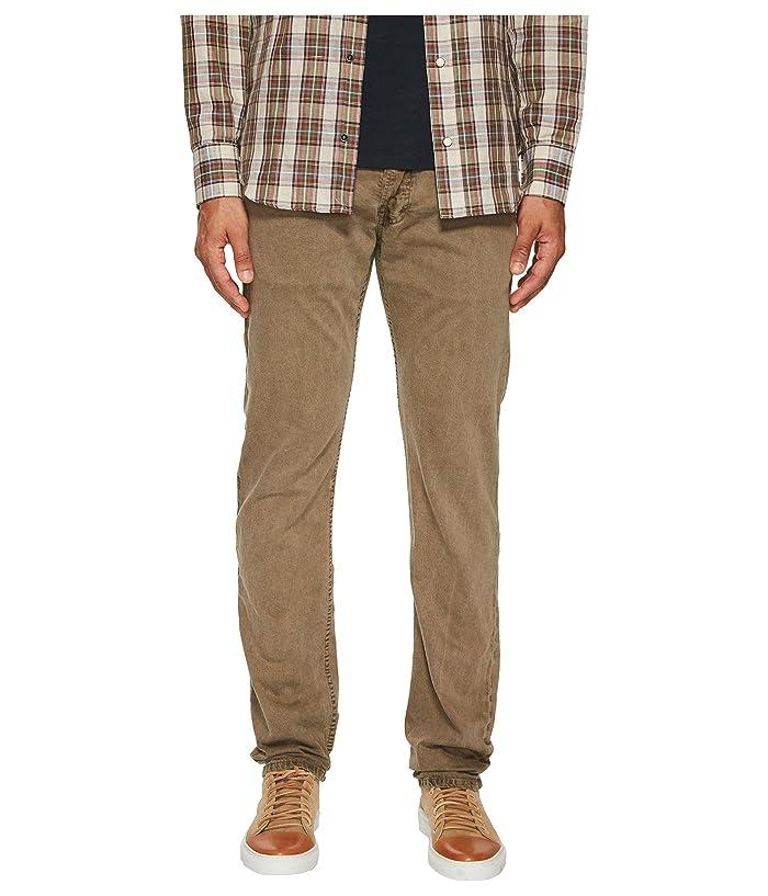 Billy Reid Garment-Dyed Slim Jeans in Rubber (Rubber) Men's Jeans