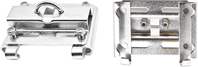 Marine City Vertical Stanchion 7/8 Inches to 1 Inches Rail Mount Anchor Bracket/Holder