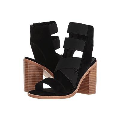 Sol Sana Maggie Heel (Black Suede) High Heels