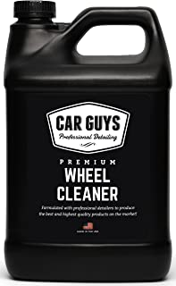 Wheel Cleaner 1 Gallon Bulk Refill - Safe for all Wheels Tires and Rims - Works on Alloy Chrome Aluminum Clear Coated Pain...