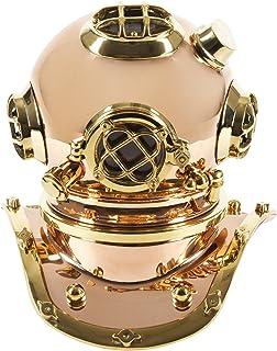 "12"" Solid Brass Diving Helmet Replica | Nagina International"