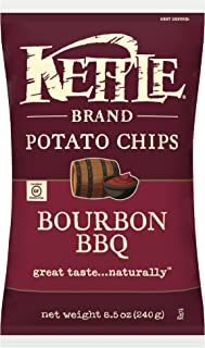 Kettle Brand Potato Chips, Bourbon BBQ Kettle Chips, 8.5 Oz
