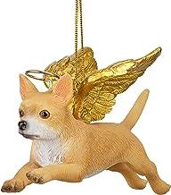 Christmas Tree Ornaments - Honor The Pooch Chihuahua Holiday Angel Dog Ornaments
