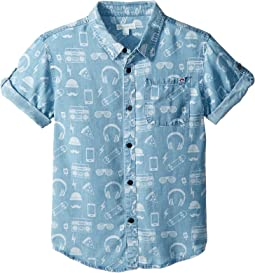 Pattern Shirt (Toddler/Little Kids/Big Kids)